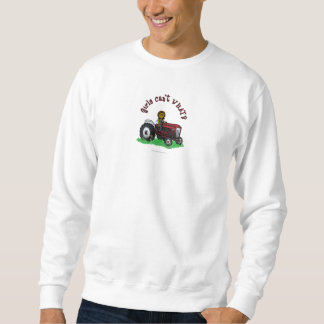 Dark Red Farmer Girl Sweatshirt