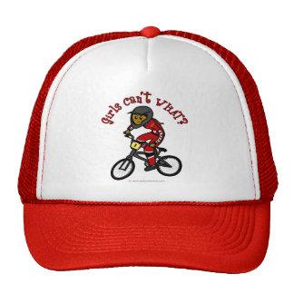 Dark Red Girls BMX Trucker Hat