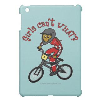Dark Red Girls BMX iPad Mini Case