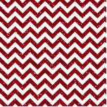 Dark Red Glitter Chevron Pattern Acrylic Cut Out