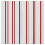 [ Thumbnail: Dark Red & Lavender Colored Lines Fabric ]