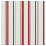 [ Thumbnail: Dark Red & Light Cyan Colored Lines Pattern Fabric ]