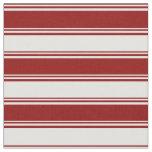 [ Thumbnail: Dark Red & Light Cyan Colored Pattern Fabric ]