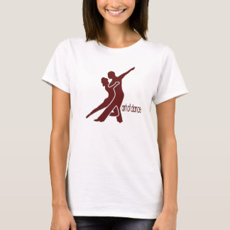 Dark Red Logo - Front Only T-Shirt