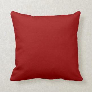 dark red pillow