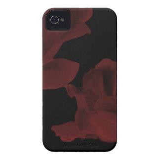 Dark Red Rose BlackBerry Case