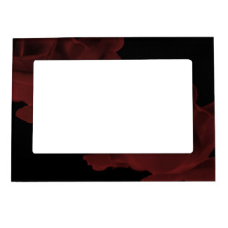 - Dark Red Rose Magnetic Picture Frame