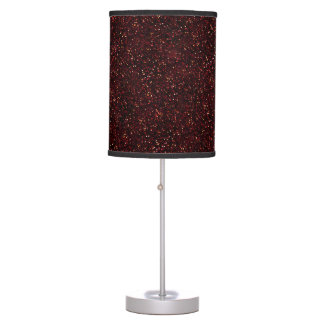 Dark Red Ruby Glitter Table Lamp
