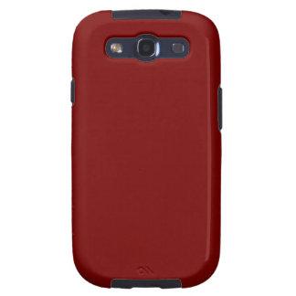 Dark Red Samsung Galaxy S3 Case