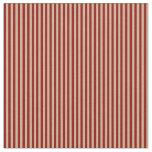 [ Thumbnail: Dark Red & Tan Stripes/Lines Pattern Fabric ]