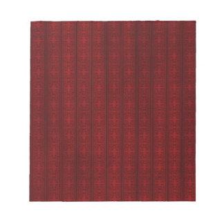 Dark red wallpaper memo notepads