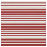 [ Thumbnail: Dark Red & White Colored Pattern Fabric ]