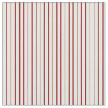 [ Thumbnail: Dark Red & White Colored Striped/Lined Pattern Fabric ]