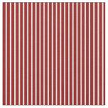 [ Thumbnail: Dark Red & White Lined/Striped Pattern Fabric ]