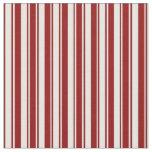 [ Thumbnail: Dark Red & White Pattern Fabric ]