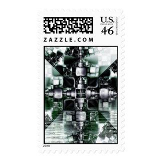 Dark Reflections Stamp