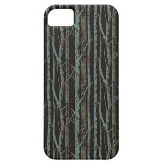 Dark Retro Birch iPhone SE/5/5s Case