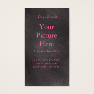 Dark Retro Business Card