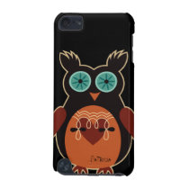 Dark Retro Cute Owl iPod Touch 5 Case