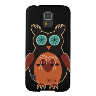 Dark Retro Cute Owl Samsung Galaxy S5 Case