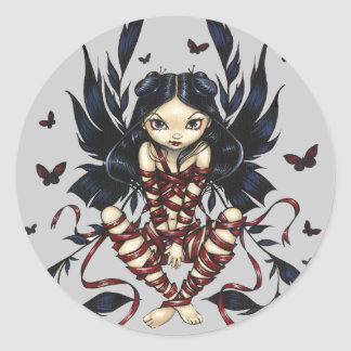 """Dark Ribbon Fairy"" Sticker"