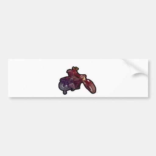 Dark Rider Bumper Sticker