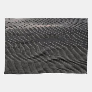 Dark ripples kitchen towels