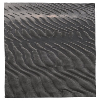 Dark ripples napkin