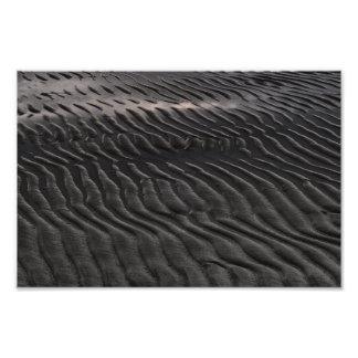 Dark ripples photo art