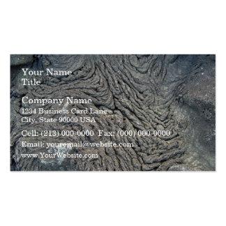 Dark Rock with Swirl Pattern Business Cards