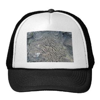 Dark Rock with Swirl Pattern Mesh Hat