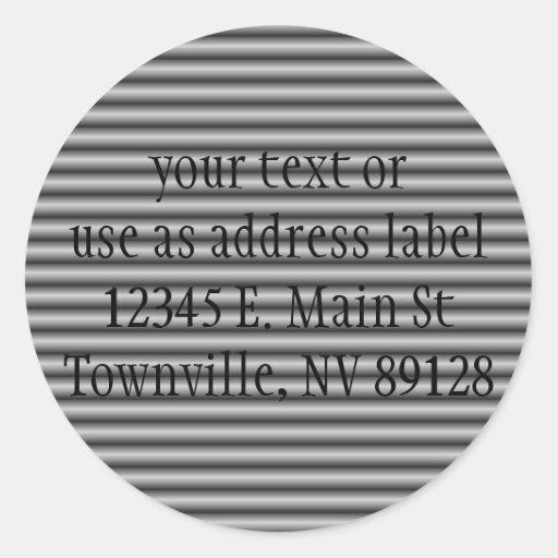 Dark Roller Door Background (1) Stickers