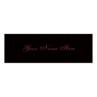 Dark Romance Business Card Templates