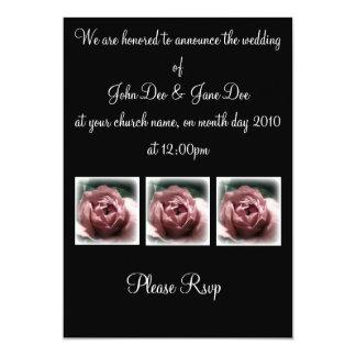 Dark Rose 1 Corinthians 13 Card