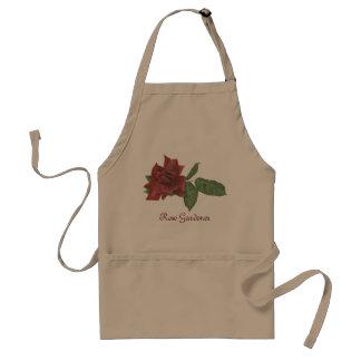 Dark Rose Garden Apron