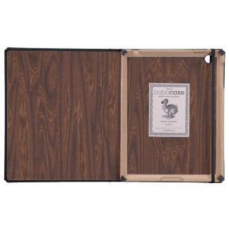 Dark Rosewood Covers For iPad