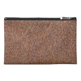 Dark rust travel accessories bag