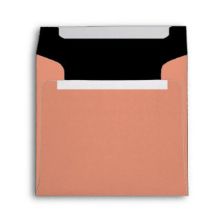 Dark Salmon and Black Envelopes