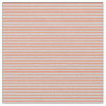 [ Thumbnail: Dark Salmon and Light Grey Pattern Fabric ]