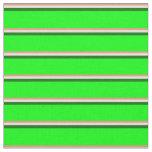 [ Thumbnail: Dark Salmon, Beige, Dark Green & Lime Lines Fabric ]