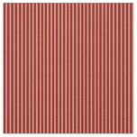 [ Thumbnail: Dark Salmon & Maroon Colored Stripes Fabric ]