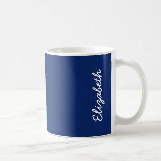 Dark Sapphire Solid Color Coffee Mug