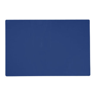 Dark Sapphire Solid Color Placemat