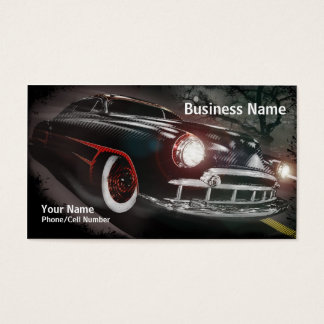 Dark Scallops Business Card