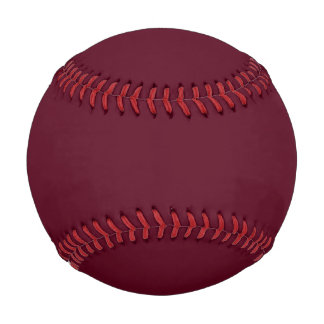 Dark Scarlet Red Baseball