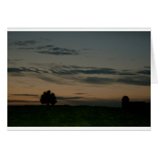 Dark Scene Card