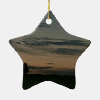 Dark Scene Ceramic Ornament