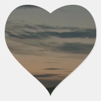 Dark Scene Heart Sticker