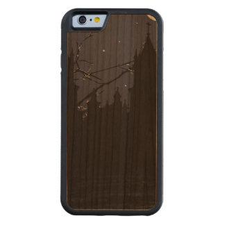 Dark Scene Illustration Print Carved Cherry iPhone 6 Bumper Case