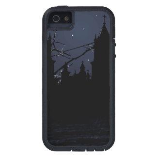 Dark Scene Illustration Print Case For iPhone SE/5/5s